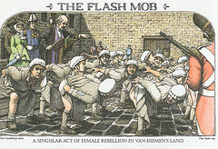 Flashing mob
