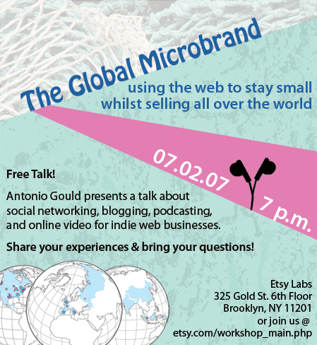 Flier for talk